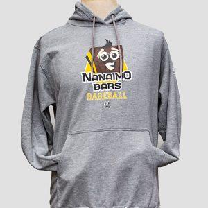 Nanaimo Bars Gray Logo Hoodie