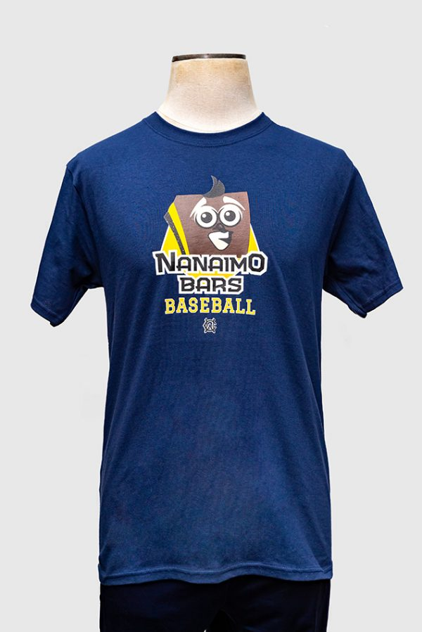 Nanaimo Bars Navy T-Shirt