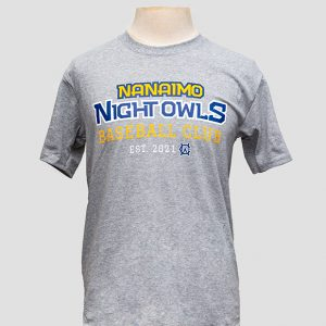 NightOwls Gray T-Shirt
